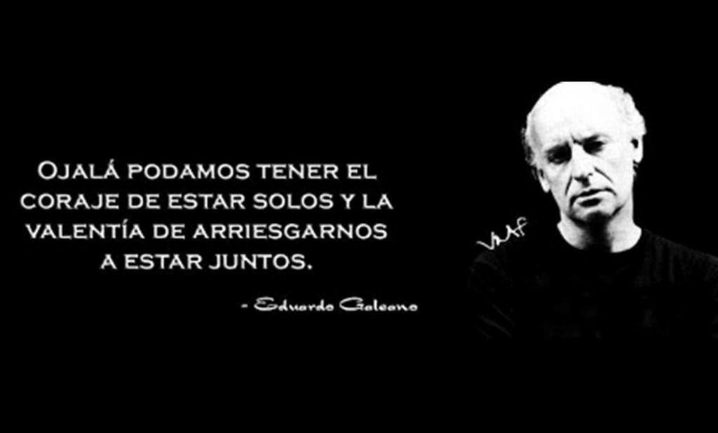Eduardo Galeano: nos queda en el alma