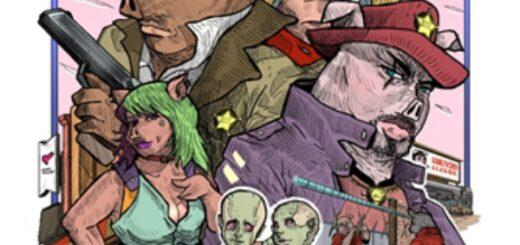 PLANET ZABOR, una serie de cómics de ciencia ficción con mensaje animalista